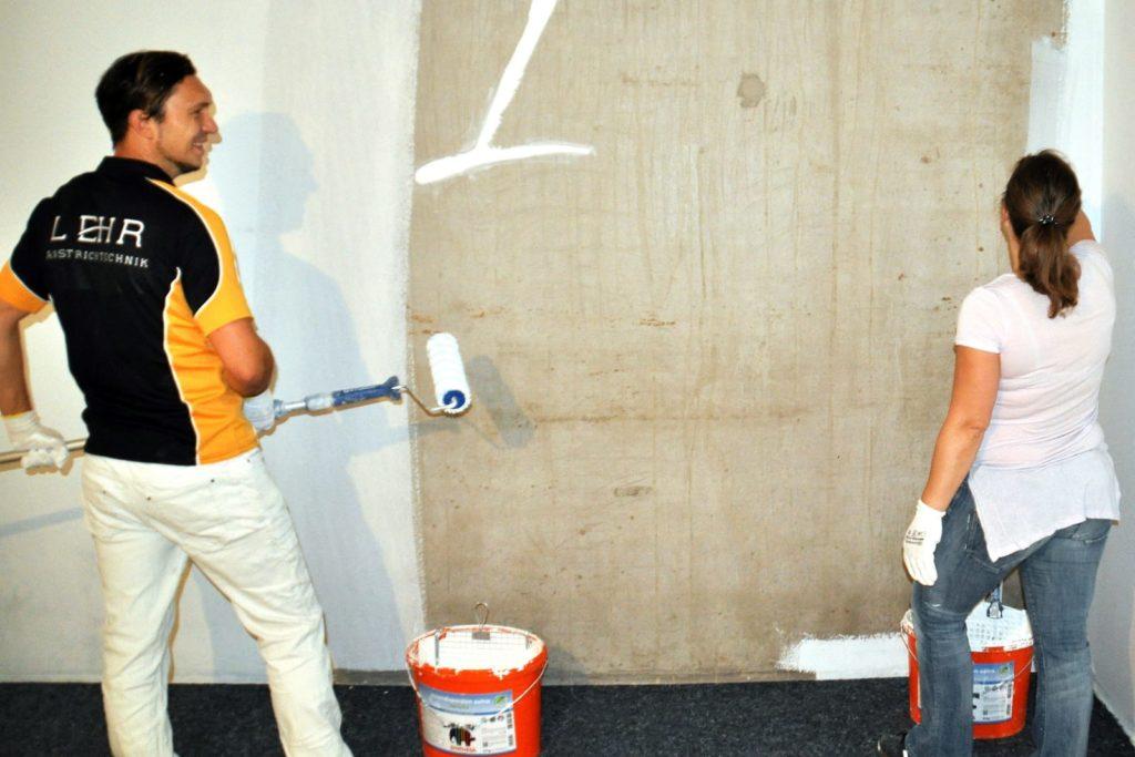 Maler Workshop - Gemeinsam schaffen wir das!